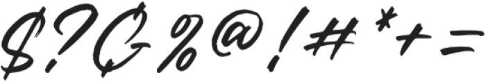 Rantheme Regular otf (400) Font OTHER CHARS