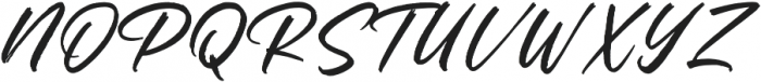 Rantheme Regular otf (400) Font UPPERCASE