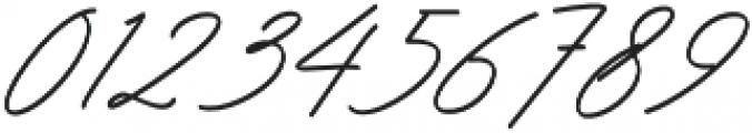 Ranuella Slant Italic otf (400) Font OTHER CHARS