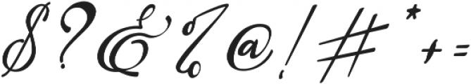 Raregold ttf (400) Font OTHER CHARS