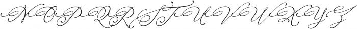 Raregold ttf (400) Font UPPERCASE