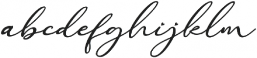 Raregold ttf (400) Font LOWERCASE