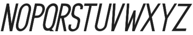 Rasendrya Sans Italic otf (400) Font UPPERCASE