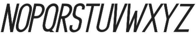 Rasendrya Sans Italic otf (400) Font LOWERCASE