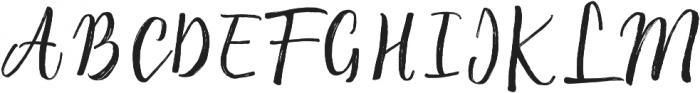 Raspberry Brush ttf (400) Font UPPERCASE