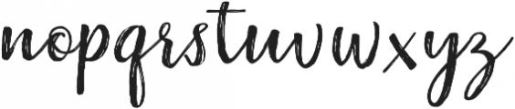 Raspberry Brush ttf (400) Font LOWERCASE