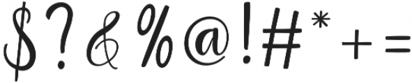 Raspberry Regular otf (400) Font OTHER CHARS