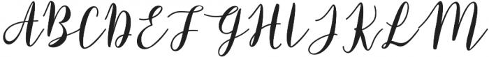 Raspberry Regular otf (400) Font UPPERCASE