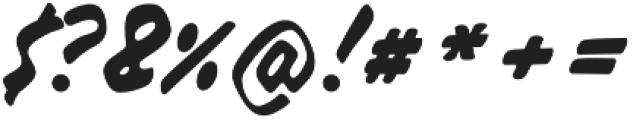 Raspberry Script otf (400) Font OTHER CHARS