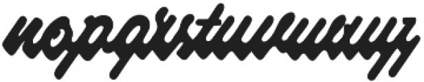 Raspberry Script otf (400) Font LOWERCASE