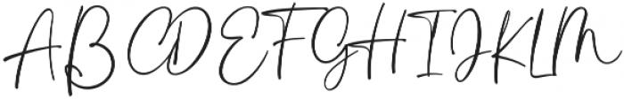 Rastanty Cortez Regular otf (400) Font UPPERCASE