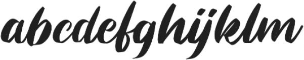 Rastynd otf (400) Font LOWERCASE