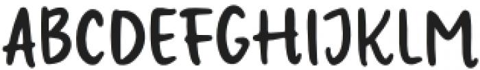 Ratiga Regular otf (400) Font UPPERCASE