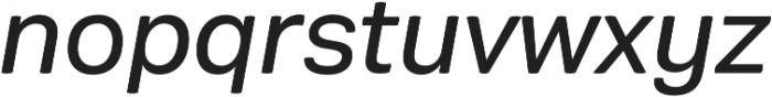 Rationell Italic otf (400) Font LOWERCASE