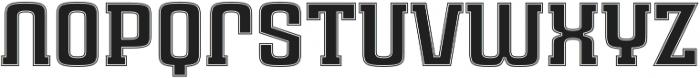 Rauda Slab Inline Unicase Regular otf (400) Font LOWERCASE