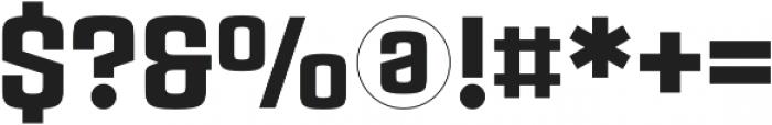 Rauda Slab Solid Regular otf (400) Font OTHER CHARS