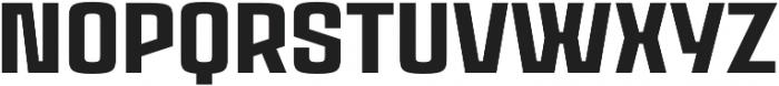 Rauda Solid Unicase Regular otf (400) Font UPPERCASE