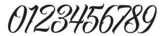 Raven Script Regular otf (400) Font OTHER CHARS
