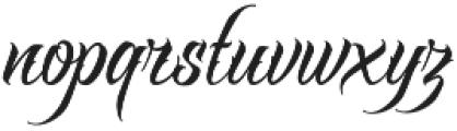 Raven Script Regular otf (400) Font LOWERCASE