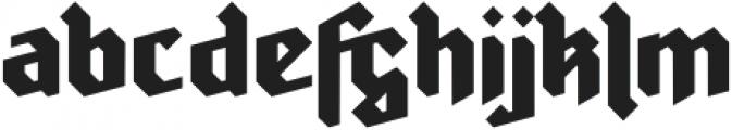 Ravenholm otf (700) Font LOWERCASE