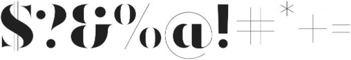 Ravensara Antiqua Stencil Extrabold otf (700) Font OTHER CHARS