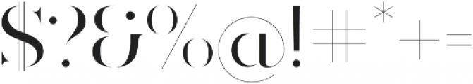 Ravensara Antiqua Stencil Medium otf (500) Font OTHER CHARS