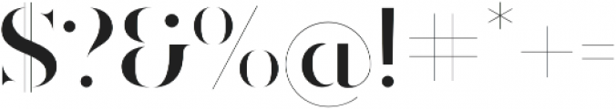 Ravensara Antiqua Stencil SemiBold otf (600) Font OTHER CHARS