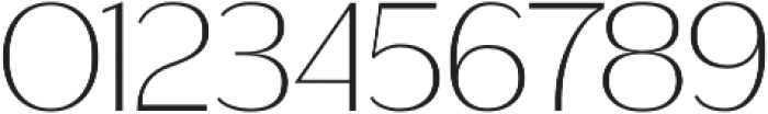 Ravensara Sans otf (300) Font OTHER CHARS