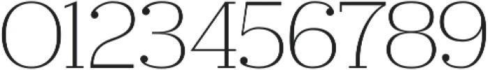 Ravensara otf (300) Font OTHER CHARS