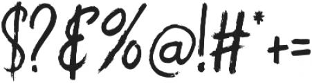 Raventame otf (400) Font OTHER CHARS