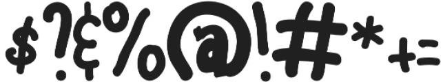 Ravioli otf (400) Font OTHER CHARS