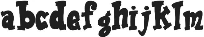 Ravioli otf (400) Font LOWERCASE
