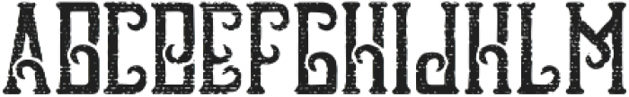 Raw Coffee Aged otf (400) Font UPPERCASE