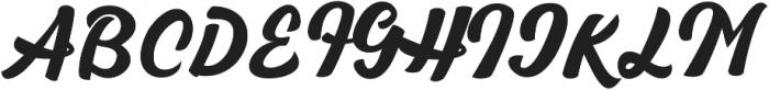 Rawhill otf (400) Font UPPERCASE