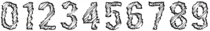Rawing Scratch otf (400) Font OTHER CHARS