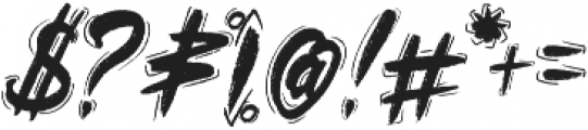 Rawkin pickles ligature otf (400) Font OTHER CHARS