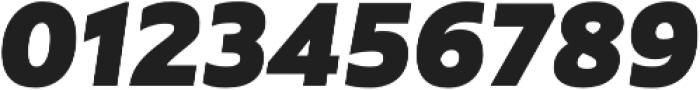 Rawson Pro ExtraBlack It otf (900) Font OTHER CHARS