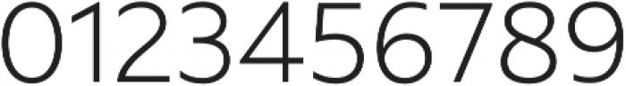Rawson Pro Light otf (300) Font OTHER CHARS