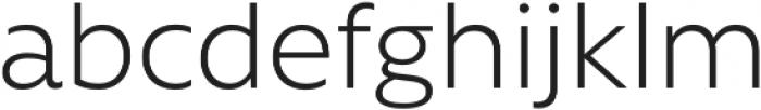 Rawson Pro Light otf (300) Font LOWERCASE
