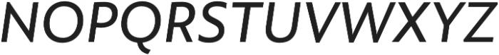 Rawson Pro Medium It otf (500) Font UPPERCASE