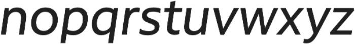 Rawson Pro Medium It otf (500) Font LOWERCASE
