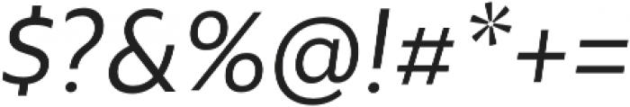 Rawson Pro Regular It otf (400) Font OTHER CHARS