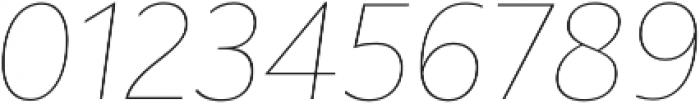Rawson Thin It otf (100) Font OTHER CHARS