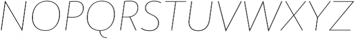 Rawson Thin It otf (100) Font UPPERCASE