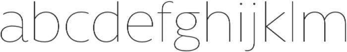 Rawson Thin otf (100) Font LOWERCASE