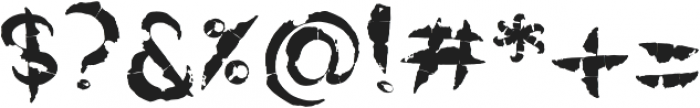 Rawwwing otf (400) Font OTHER CHARS