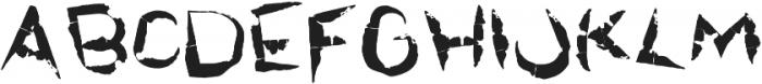 Rawwwing otf (400) Font UPPERCASE