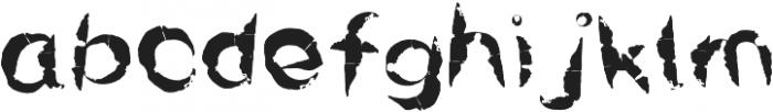 Rawwwing otf (400) Font LOWERCASE