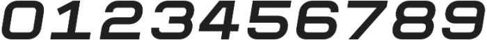 Raxtor otf (400) Font OTHER CHARS