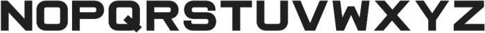 Raxtor otf (700) Font UPPERCASE